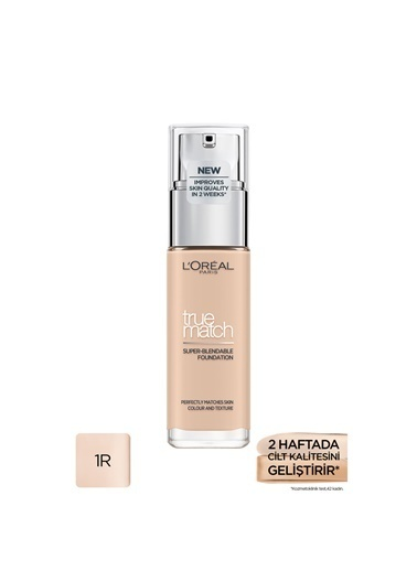 L'Oréal Paris L'Oréal Paris True Match Fondöten 1R1C1K IVORY ROSE Renkli